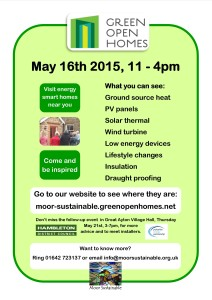 Green open Homes Poster