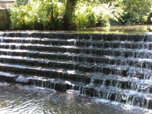 Weir Waterfall Park
